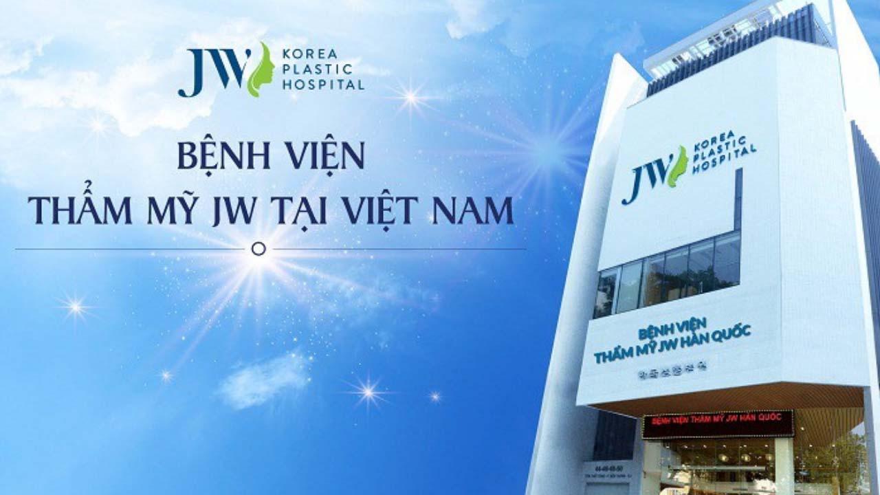 Thẩm mỹ viện JW | Top 15 cơ sở Nâng mũi Đẹp và An toàn ở TPHCM