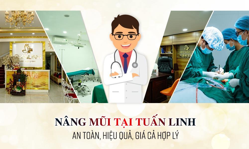 Nâng mũi an toàn, giá hợp lý tại Tuấn Linh | Top 15 địa chỉ nâng mũi giá rẻ chất lượng cực tốt tại TPHCM