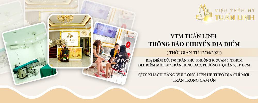 Thông báo thay đổi địa điểm tại VTM Tuấn Linh
