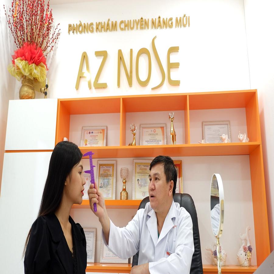 Viện thẩm mỹ AZ Nose   [2021] Top 5 địa chỉ Nâng mũi S Line uy tín và chất lượng nhất TPHCM