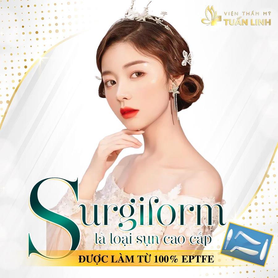 Surgiform là loại sụn cao cấp được làm từ 100% ePTFE